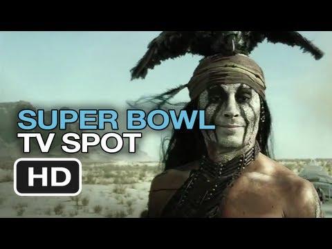 The Lone Ranger - Extended Super Bowl Trailer (2013) Johnny Depp Movie