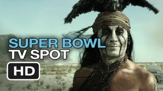The Lone Ranger - Extended Super Bowl Trailer (2013) Johnny Depp Movie