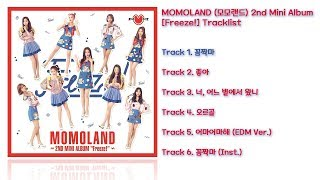 [전곡 듣기/Full Album] MOMOLAND(모모랜드) 2nd Mini Album [Freeze!]