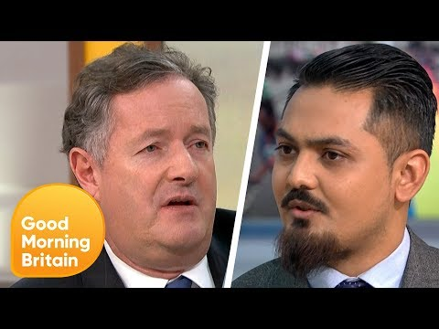 Piers Challenges Journalist Who Is Against LGBT Lessons In Schools | Good Morning Britain