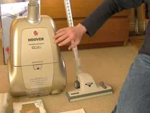 hoover freemotion allergy care bagged cylinder vacuum cleane