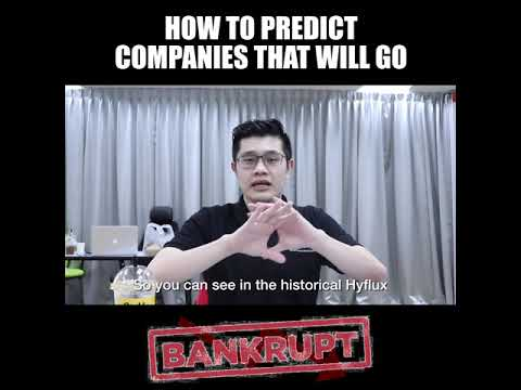 Companies That Are Secretly Going Bankrupt : How to Predict Companies That Will Go Bankrupt!