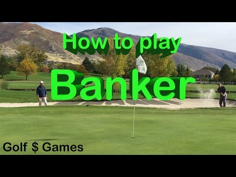 How To Play Banker - Golf $ Games