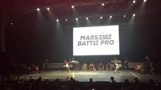 Marseille Battle Pro 2016 Bgirl Terra vs Bboy Lorenzo Semi Finals