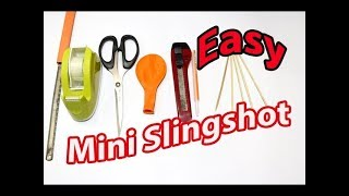 How to make a Slingshot from Balloon and Pen