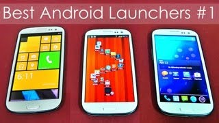 Top 30 Best Android Launchers 2013 - Get a New Look! (Galaxy S3) - Part 1 - Android Tips #14