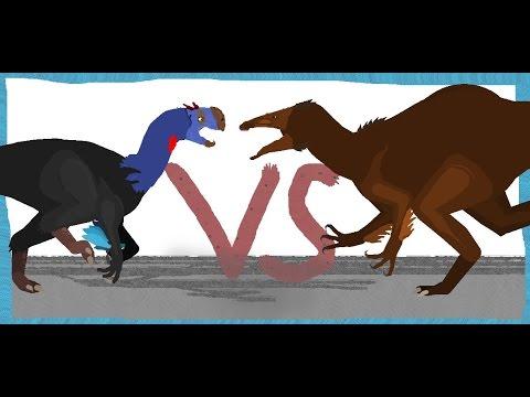 Pivot Battle Arena: Gigantoraptor VS Deinocheirus