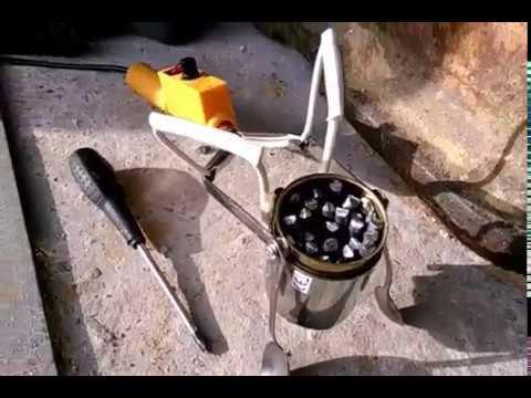 Тигель - Тигелёк для плавки олова // Soldering Furnace For Melting Tin