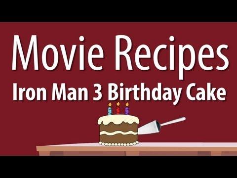 Iron Man 3 Birthday Cake - Movie Recipes