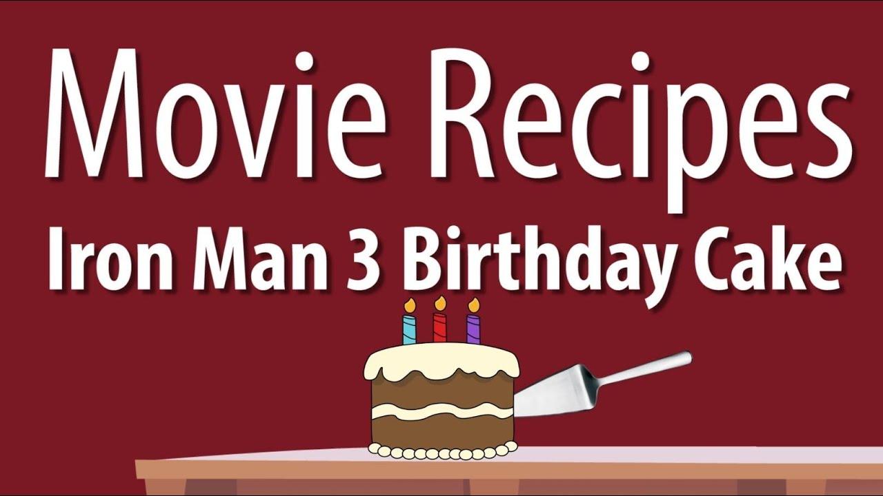 Iron Man Cake Recipe