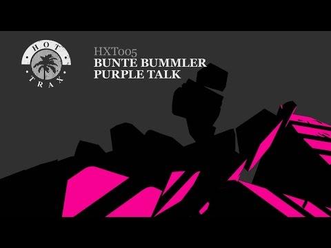 'Purple Talk' - Bunte Bummler