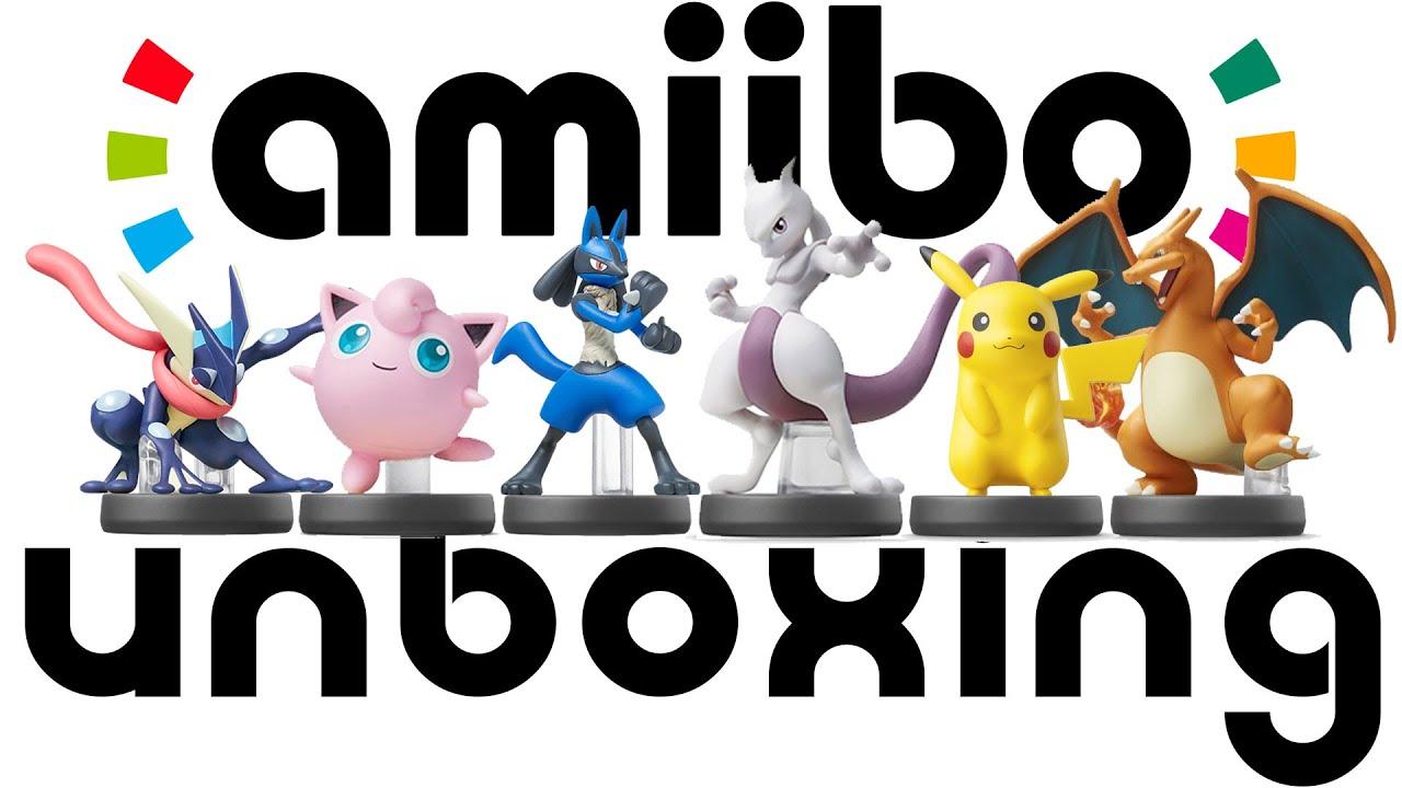 Unboxing ALL Super Smash Bros Pokemon Amiibo INCLUDING