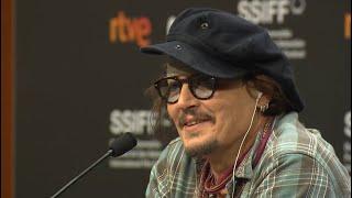 Press Conference DONOSTIA AWARD Johnny Depp - 2021