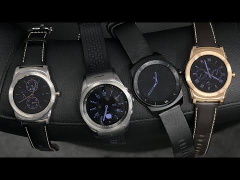 LG Watch Urbane vs G Watch R vs Urbane LTE - Hands-on Comparison!