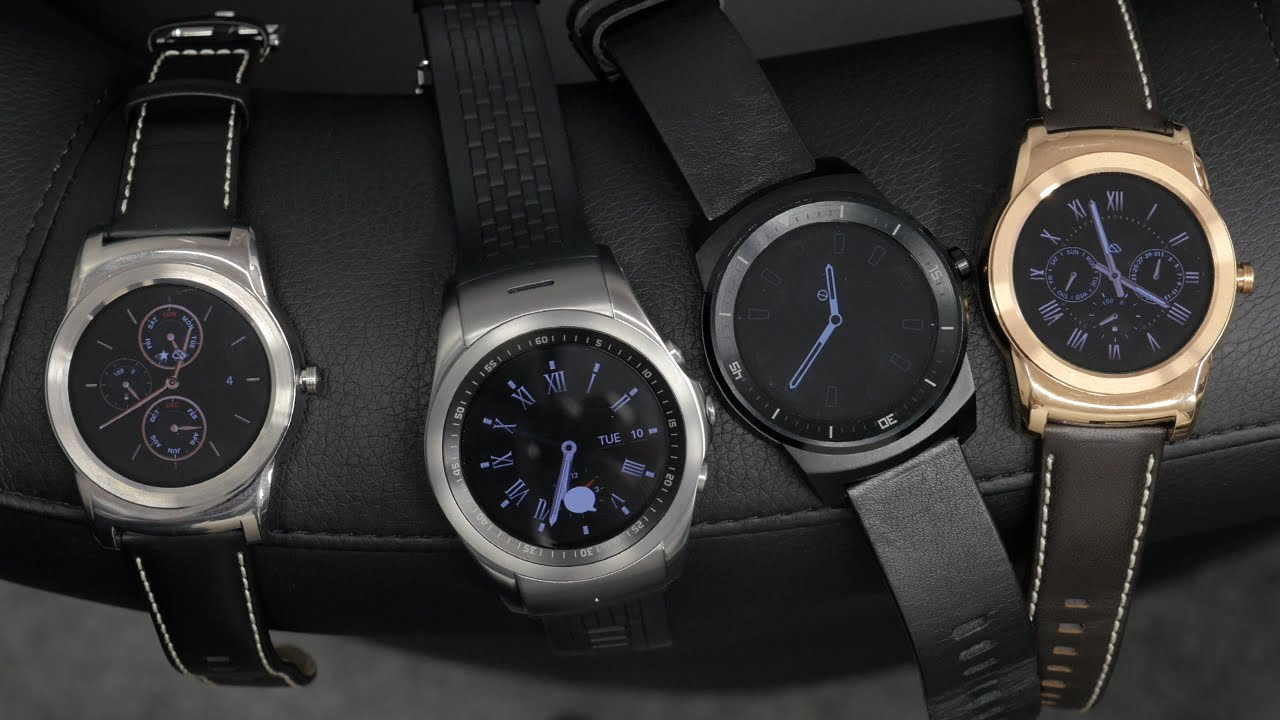 LG G Watch R In-depth Review - YouTube