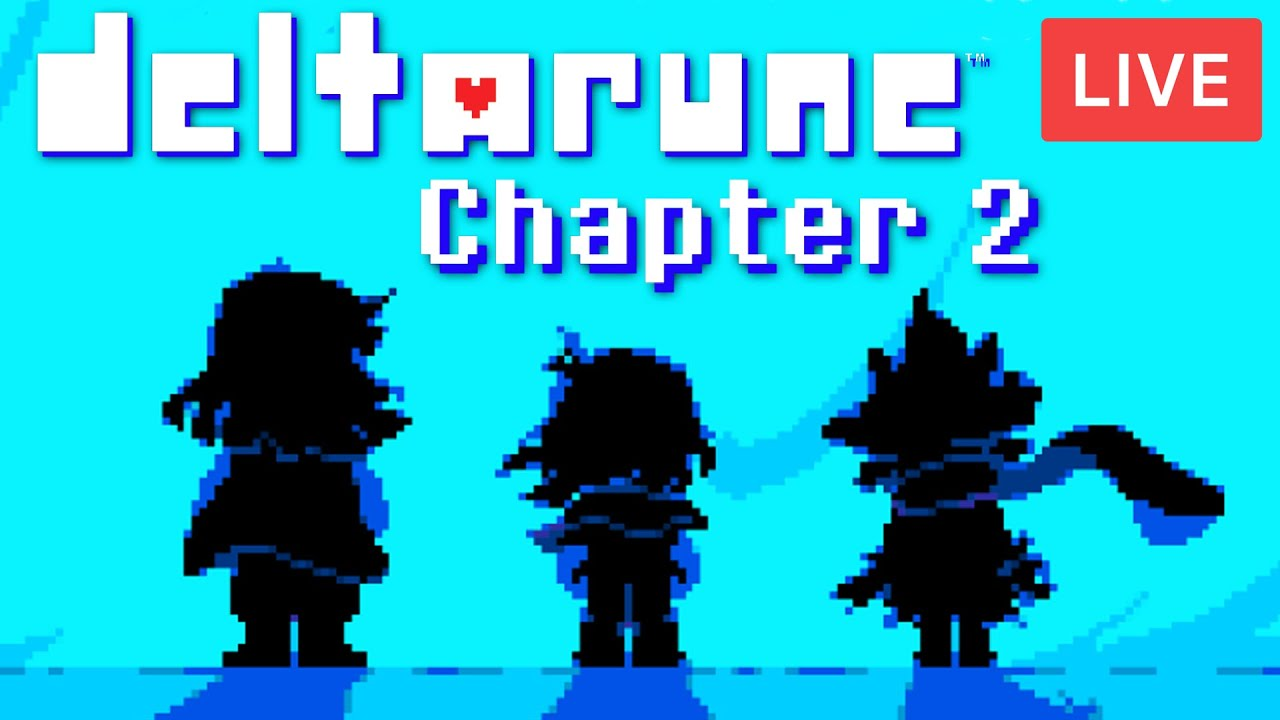 Download 🔴 LIVE - DELTARUNE CHAPTER 2 - IT'S FINALLY OUT   Official Countdown   Undertale 2   KreekCraft LIVE