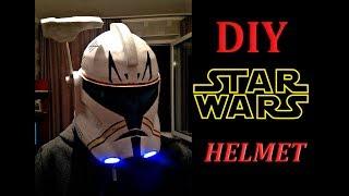 How to make Star Wars helmet DIY |  Как сделать шлем из звездных войн