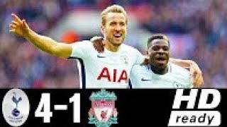Tottenham vs Liverpool 4-1 Highlights & Goals -  22 October 2017