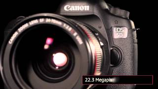 The EOS 5D Mark III. comercial.