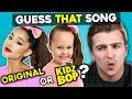 Guess That: Kidz Bop vs. Original Song Challenge #2