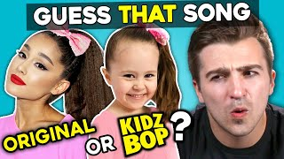 Guess That: Kidz Bop vs. Original Song Challenge #2