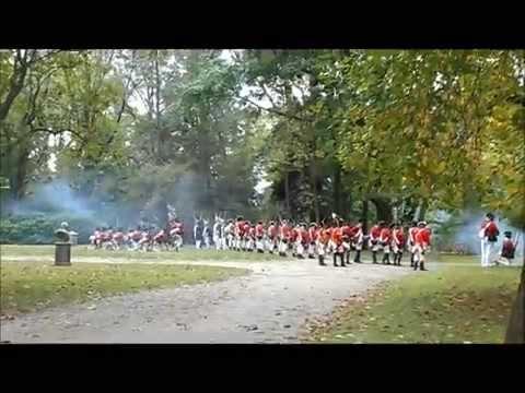 Part 2 Battle Of Germantown Revolutionary War Reenactment In Germantown, PA On October 4, 2014