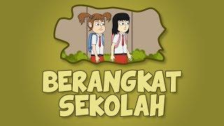 Berangkat Sekolah Animasi Kocak Kartun Lucu Naya Dan Loli Youtube