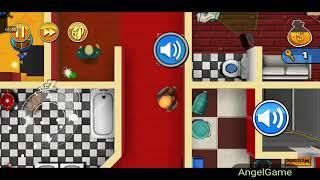 Robbery Bob - Bonus Chapter (Challenge) Level 9 Gameplay Video