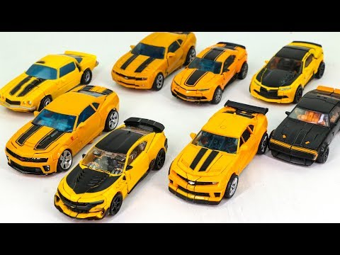 Transformers Movie 1 2 3 4 5  Deluxe Class Bumblebee Camaro Car 8 Vehicle Robots Toys