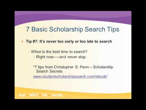 Scholarship Process