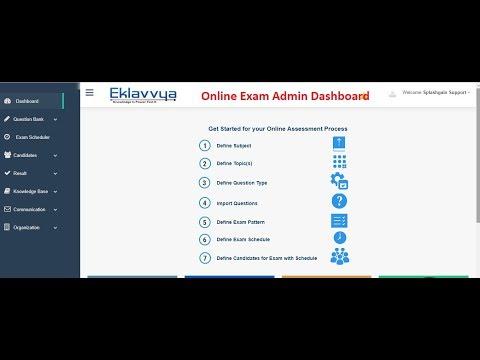 online-exam-dashboard-information