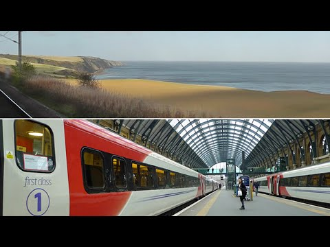 london to edinburgh by train youtube