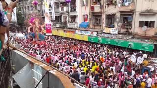 Mumbaicha Raja ( Ganesh Galli ) visarjan rally 2013.