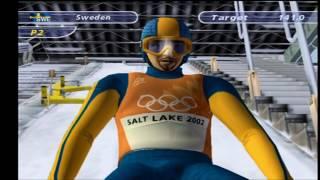 Salt Lake 2002 PS2 Gameplay