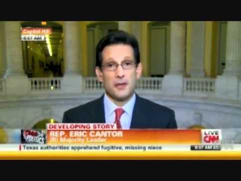 Eric Cantor Slams Trump; Defends Obama's Eligibility - 4/12/11