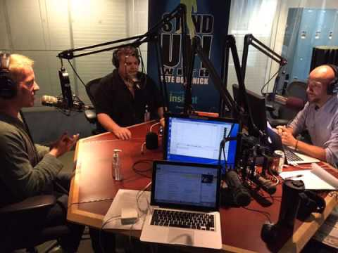 Stand Up! w/ Pete Dominick - Ron Bennington and Opie In Studio