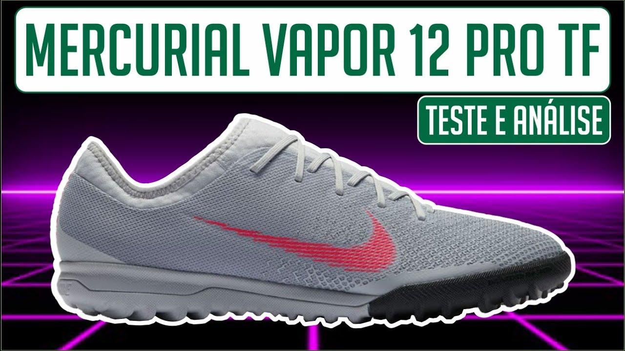 separation shoes 52471 1ba1f CHUTEIRA NIKE MERCURIAL VAPOR 12 PRO TF SOCIETY - TESTE E AN