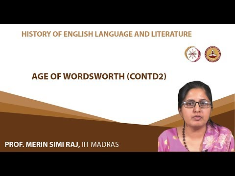 Age of Wordsworth (Continued) -2