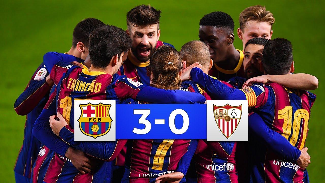 Download COMEBACK COMPLETED! Barcelona vs Sevilla 3-0 - All Goals & Highlights 2021