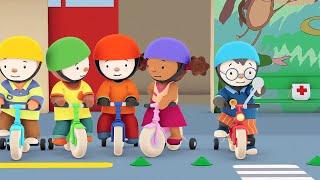 T'choupi à l'école - Le vélo rouge tout neuf (EP.5) thumbnail