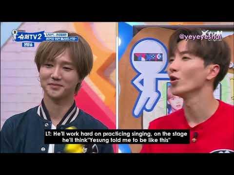 [ENG SUB] SuperTV Yesung's fanboy Kwanghyun