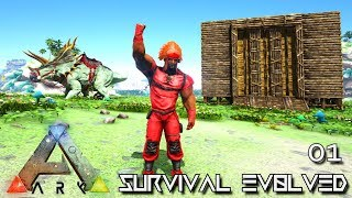 ARK: SURVIVAL EVOLVED - NEW EPIC JOURNEY BEGINS !!! | PRIMAL FEAR ISO CRYSTAL ISLES E01