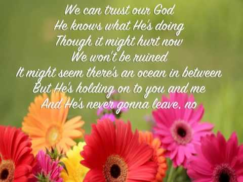 He Is With Us ~ Love & the Outcome ~ lyric video