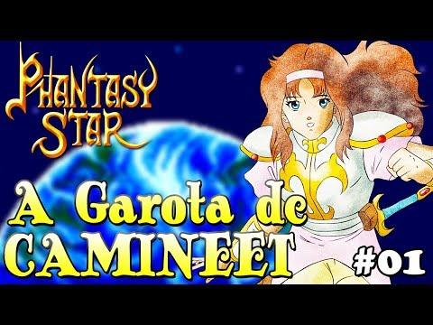 A Garota de Camineet - Phantasy Star #01