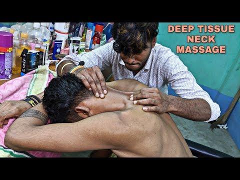 Deep tissue Neck masssge With neck cracking | Body & Head massage | Poerful Indian ASMR