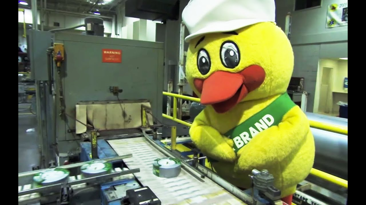 How Duck Tape is Made