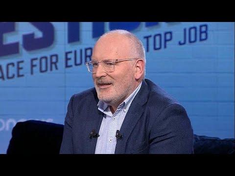 """Frans Timmermans (Socialisti): """"Salario minimo in tutti gli stati"""""""
