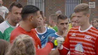 SSV Jeddeloh II gegen Werder Bremens Traditionsmannschaft