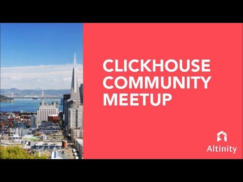 ClickHouse Community Meetups