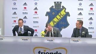 Här presenteras Rikard Norling för AIK - TV4 Sport